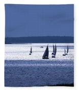 Blue Armada II Fleece Blanket