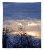 Blue At Dusk Fleece Blanket