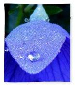 Blue Balance Fleece Blanket