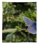 Blue Beauty Fleece Blanket