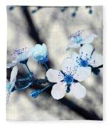 Blue Blossoms Fleece Blanket