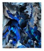 Blue Chaos Fleece Blanket