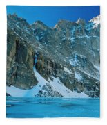 Blue Chasm Fleece Blanket