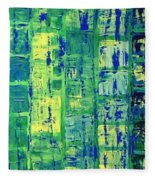 Blue City Fleece Blanket
