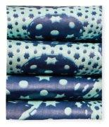 Blue Cloth Fleece Blanket
