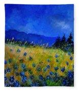 Blue Conflowers 454150 Fleece Blanket
