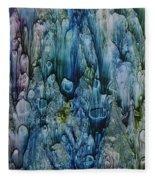 Blue Coral Fleece Blanket