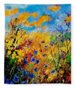 Blue Cornflowers 450408 Fleece Blanket