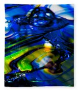 Blue Crystal Fleece Blanket