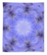Blue Crystallized 1  Fleece Blanket