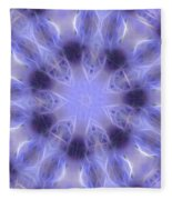 Blue Crystallized 2  Fleece Blanket