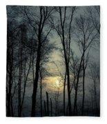 Blue Daybreak Fleece Blanket