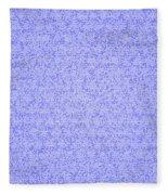 Blue Design Fleece Blanket