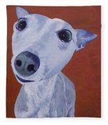 Blue Dog Fleece Blanket