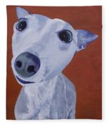Blue Dog Fleece Blanket