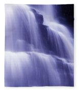 Blue Falls Fleece Blanket