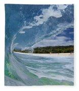 Blue Foam Fleece Blanket
