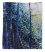 Blue Forest By Jrr Fleece Blanket