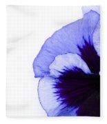 Blue Frost Fleece Blanket