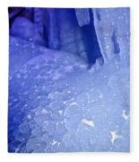 Blue Goosebumps Fleece Blanket