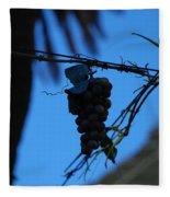 Blue Grapes Fleece Blanket
