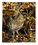 Blue Grouse Fleece Blanket