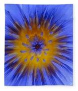 Blue Heart Fleece Blanket