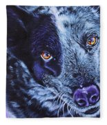 Blue Heeler Fleece Blanket