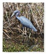 Blue Heron Lacassine Fleece Blanket