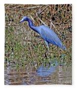 Blue Heron Louisiana Fleece Blanket