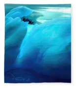 Blue Ice Fleece Blanket