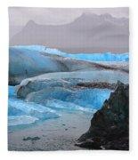 Blue Ice Fleece Blanket