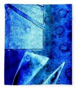 Blue   II Fleece Blanket