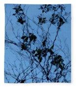 Blue Ink Fleece Blanket