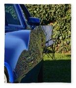 Blue Javelin Fender Fleece Blanket