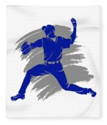Blue Jays Shadow Player2 Fleece Blanket
