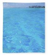 Blue Lagoon. Fleece Blanket