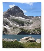 Blue Lake Fleece Blanket