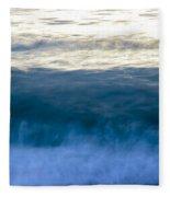Blue Lines Fleece Blanket