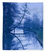 Blue Monday Fleece Blanket