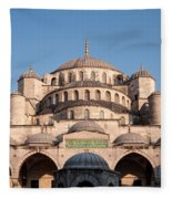 Blue Mosque Domes 01 Fleece Blanket