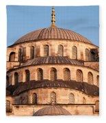 Blue Mosque Domes 03 Fleece Blanket