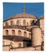 Blue Mosque Domes 05 Fleece Blanket