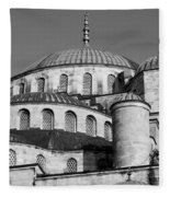 Blue Mosque Domes 06 Fleece Blanket