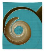 Blue Motion Fleece Blanket