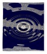 Blue Motion Fleece Blanket