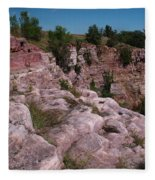 Blue Mounds Quarry Fleece Blanket