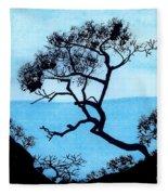 Blue Mountain Fleece Blanket