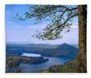 Blue Mountains Fleece Blanket