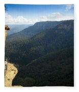 Blue Mountains Walkway Fleece Blanket